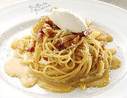 レシピ スパゲッティ カルボナーラ・マスカルポーネのせ