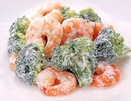 レシピ エビとブロッコリーのサラダ