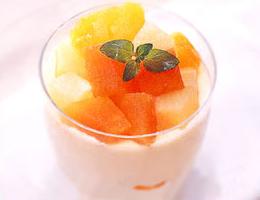 レシピ マスカルポーネのフルーツパフェ