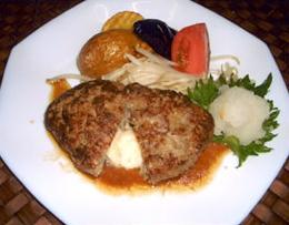 レシピ モッツァレラチーズハンバーグ